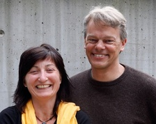 Dean at Medical Faculty of Lund University Bo Ahren,May-Britt Moser, Chairwoman at Fernstrom Foundation Elisabeth Edholm and Edvard Moser