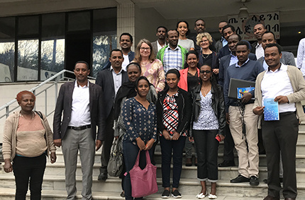 New PhD course initiated in a unique collaboration with Addis Ababa
